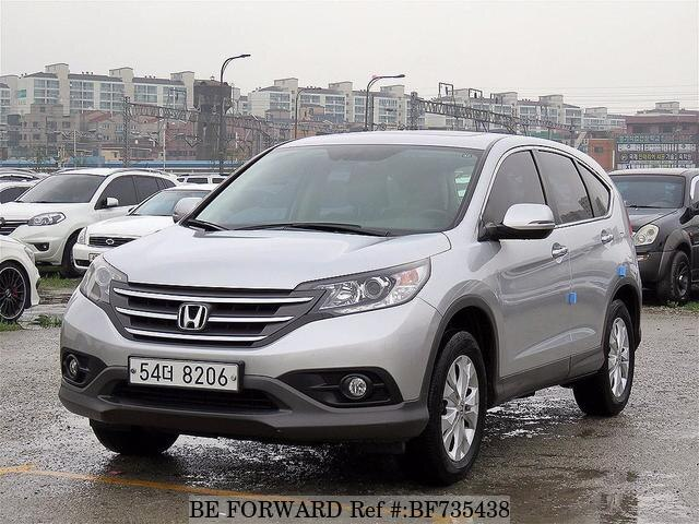 Used 2012 HONDA CR V BF735438 For Sale