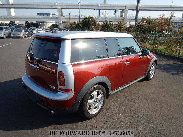 used 2008 bmw mini clubman cooper clubman aba ml16 for sale bf736058 be forward. Black Bedroom Furniture Sets. Home Design Ideas