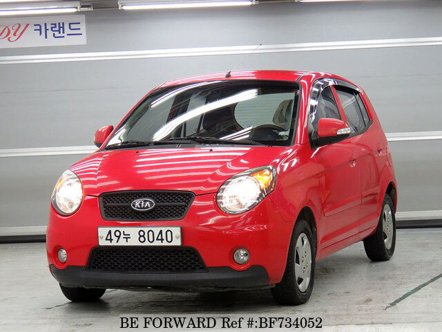 used 2009 kia morning picanto lx for sale bf734052 be forward. Black Bedroom Furniture Sets. Home Design Ideas