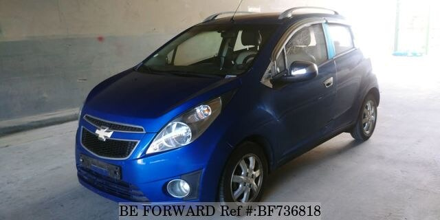 Used 2012 Chevrolet Spark For Sale Bf736818 Be Forward