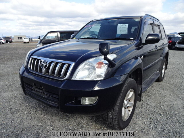 Used 2006 TOYOTA LAND CRUISER PRADO BF737119 for Sale