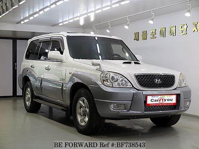 Used 2006 Hyundai Terracan Bf738543 For