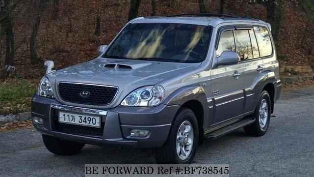used 2007 hyundai terracan jx290 for sale bf738545 be. Black Bedroom Furniture Sets. Home Design Ideas