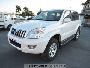 Used 2006 TOYOTA LAND CRUISER PRADO BF738505 for Sale