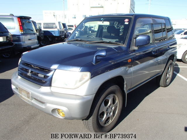 Used 2000 MITSUBISHI PAJERO IO BF739374 for Sale