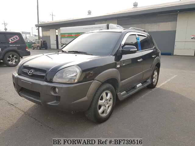 Used 2007 HYUNDAI TUCSON BF739516 For Sale