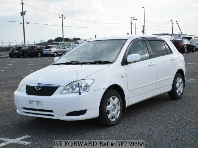 Used 2002 TOYOTA COROLLA RUNX BF739658 for Sale
