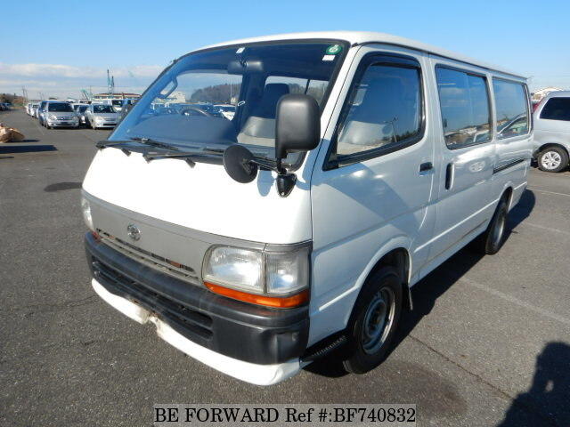 Used 1995 TOYOTA HIACE VAN LONG DX Z-RZH112V for Sale BF740832 - BE ... 81910381d66
