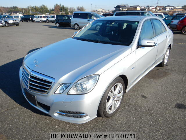 Used 2010 MERCEDES-BENZ E-CLASS BF740751 for Sale