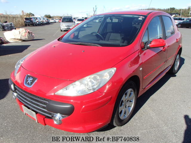 Used 2006 PEUGEOT 307/GH-T5NFU for Sale BF740838 - BE FORWARD