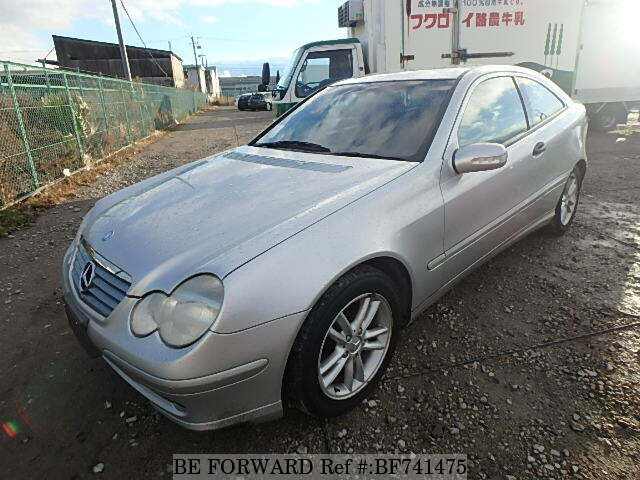 Used 2002 Mercedes Benz C Class C200 Kompressor Sports Coupe Gh
