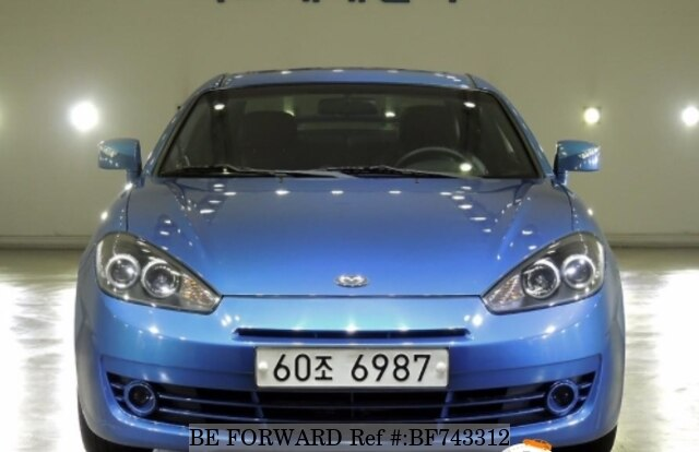 Used 2007 Hyundai Tuscani G4gc For Sale Bf743312 Be Forward