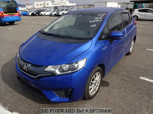 About This 2014 HONDA Fit Hybrid (Price:$7,123)