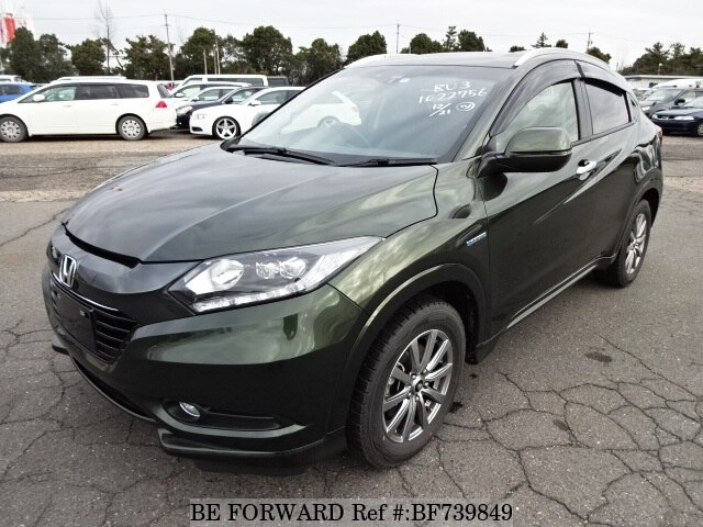 Used 2014 HONDA VEZEL BF739849 for Sale