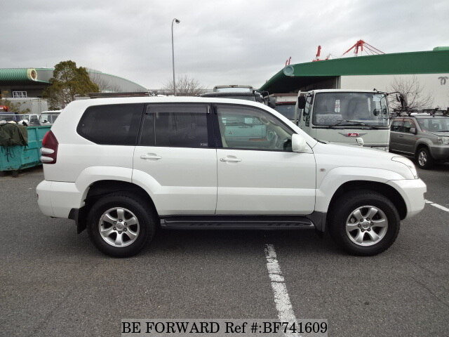 used 2005 toyota land cruiser prado tx cba trj120w for sale bf741609 be forward. Black Bedroom Furniture Sets. Home Design Ideas