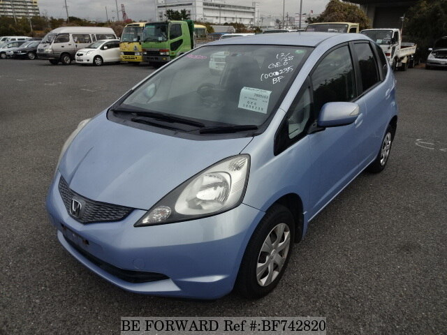 Used 2007 honda fit g dba ge6 for sale bf742820 be forward for Honda fit horsepower