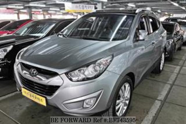 Used 2012 HYUNDAI TUCSON BF743595 For Sale