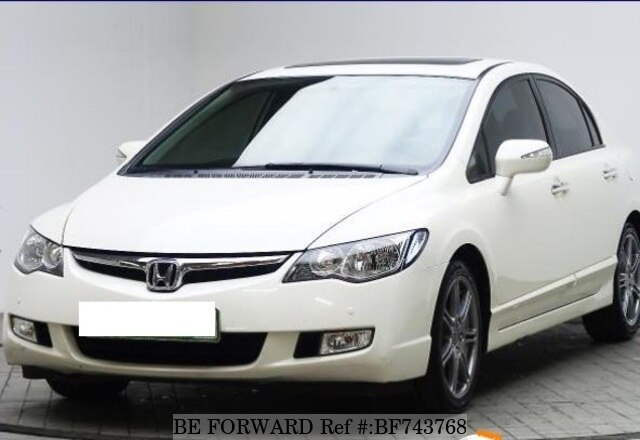Used 2007 HONDA CIVIC BF743768 For Sale