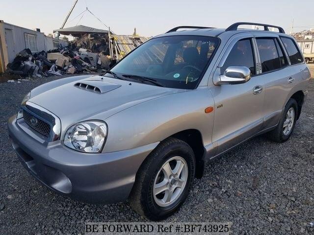 Used 2001 HYUNDAI SANTA FE BF743925 For Sale