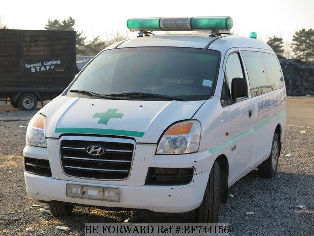 2007 hyundai starex ambulance d 39 occasion en promotion bf744156 be forward. Black Bedroom Furniture Sets. Home Design Ideas