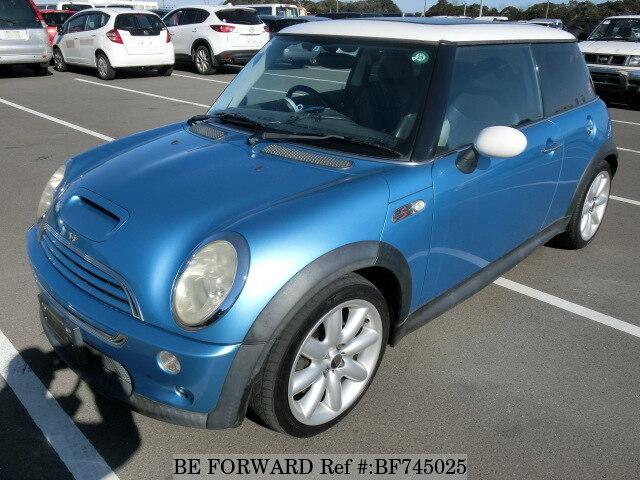 used 2003 bmw mini cooper s gh re16 for sale bf745025 be forward rh beforward jp