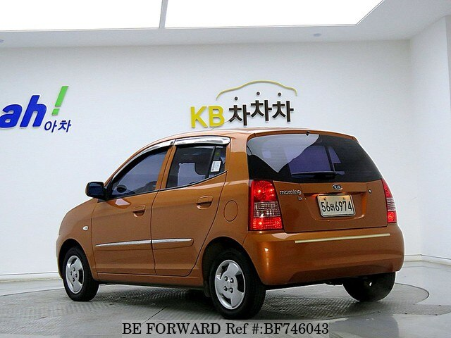 used 2007 kia morning picanto lx for sale bf746043 be forward. Black Bedroom Furniture Sets. Home Design Ideas
