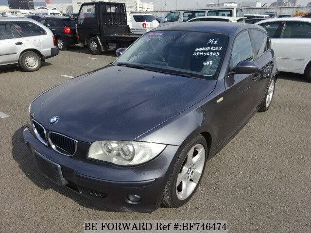 Used 2005 BMW 1 SERIES 120I NAVI PACKAGE/GH-UF20 for Sale BF746474 ...