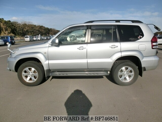 Used 2002 Toyota Land Cruiser Prado Tz Ta Vzj121w For Sale