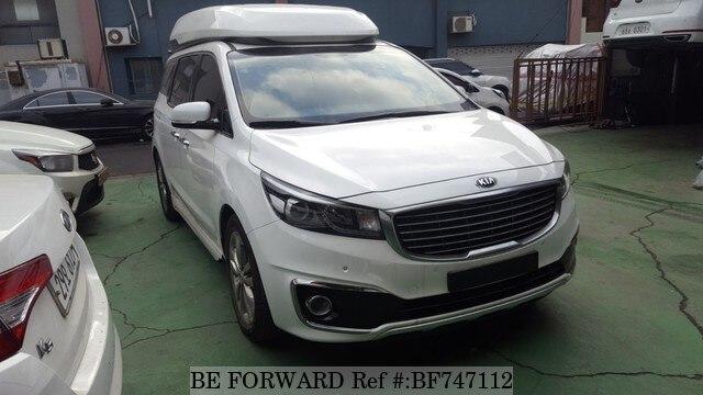 Used 2015 Kia Carnival Hi Limousine For Sale Bf747112 Be Forward