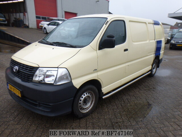 About This 2008 Toyota Hiace Van Price 14 614