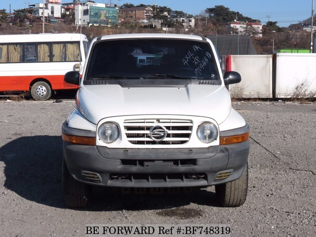 2002 ssangyong korando d 39 occasion en promotion bf748319 be forward. Black Bedroom Furniture Sets. Home Design Ideas