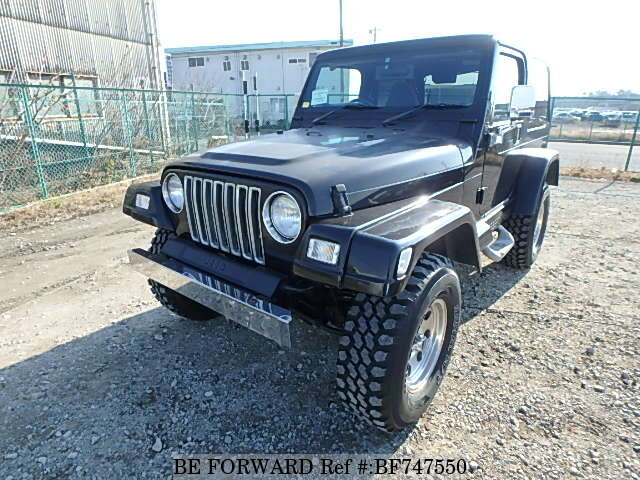 Used 2000 JEEP WRANGLER BF747550 For Sale