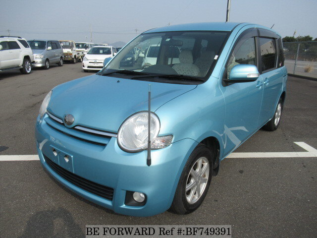 Used 2010 Toyota Sienta G Dba Ncp81g For Sale Bf749391 Be Forward