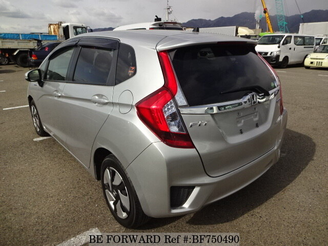Used 2015 HONDA FIT HYBRID F PACKAGE/DAA-GP5 for Sale BF750490 - BE ...