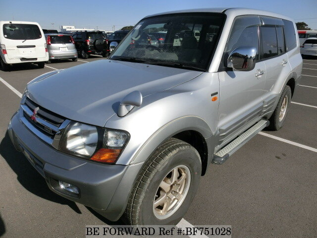 Used 2000 MITSUBISHI PAJERO EXCEED L/GH-V75W for Sale BF751028 - BE