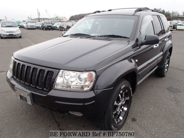 Used 1999 JEEP GRAND CHEROKEE/GF-WJ40 for Sale BF750780 - BE