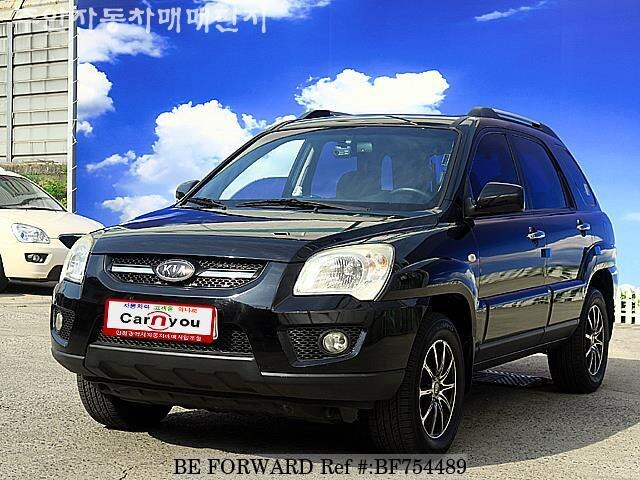 2007 kia sportage premium d 39 occasion en promotion bf754489 be forward. Black Bedroom Furniture Sets. Home Design Ideas