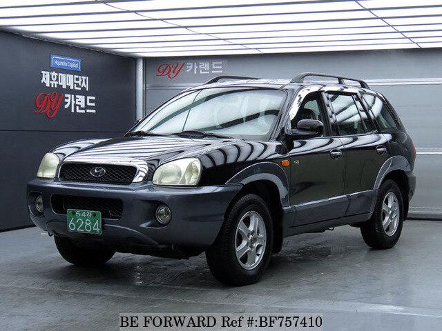 Good Used 2000 HYUNDAI SANTA FE BF757410 For Sale