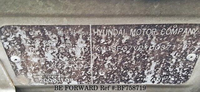 2000 hyundai santa fe usados en venta bf758719 be forward for Hyundai motor myanmar co ltd