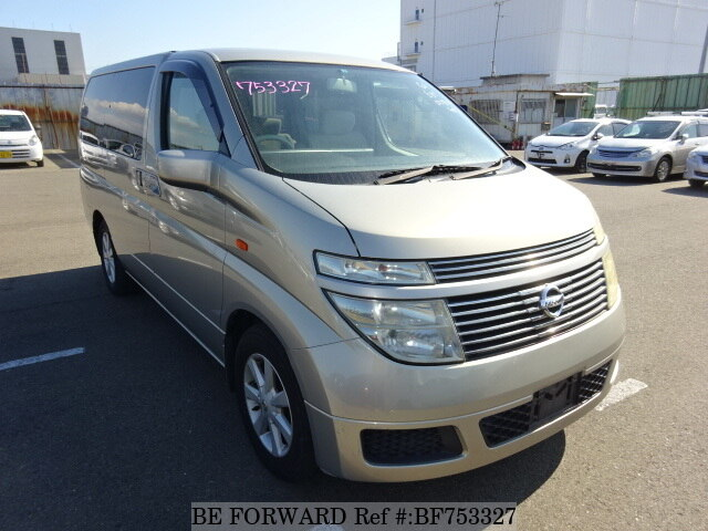 Used 2003 NISSAN ELGRAND VG VERSION L/UA-E51 for Sale BF753327 - BE