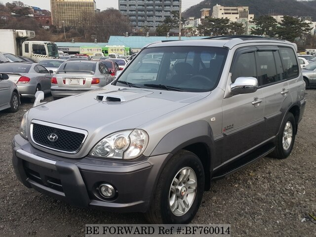 Used 2002 Hyundai Terracan Bf760014 For