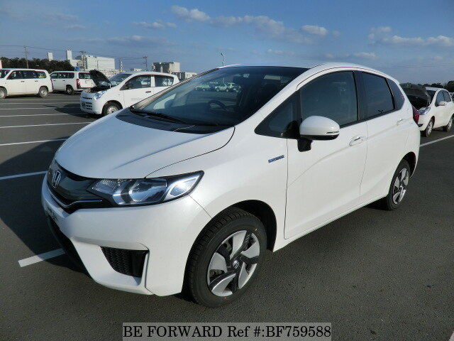 Used 2015 HONDA FIT HYBRID F PACKAGE/DAA-GP6 for Sale BF759588 - BE ...