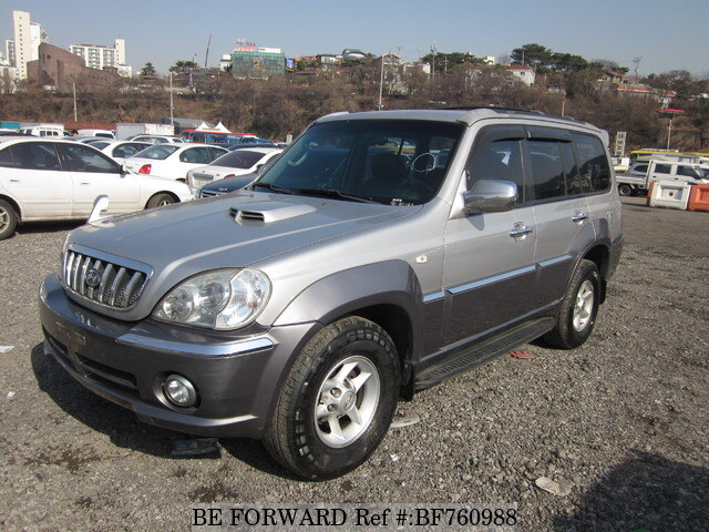 Used 2003 Hyundai Terracan Bf760988 For