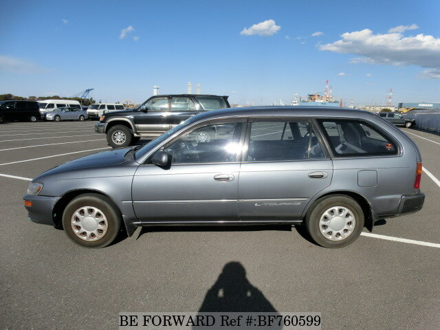 used 1996 toyota corolla touring wagon l touring e ae100g for sale bf760599 be forward. Black Bedroom Furniture Sets. Home Design Ideas