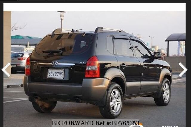 used 2006 hyundai tucson for sale bf765353 be forward. Black Bedroom Furniture Sets. Home Design Ideas