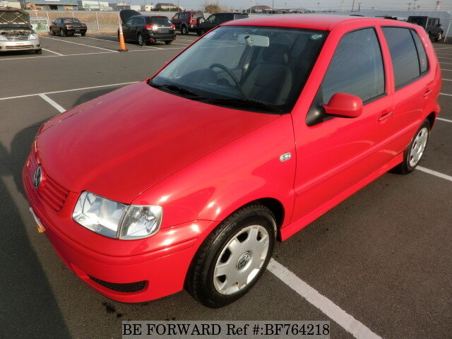 Used 2001 VOLKSWAGEN POLO/GF-6NAHW for Sale BF764218 - BE FORWARD