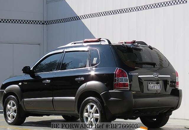 used 2006 hyundai tucson d4ea for sale bf766603 be forward. Black Bedroom Furniture Sets. Home Design Ideas