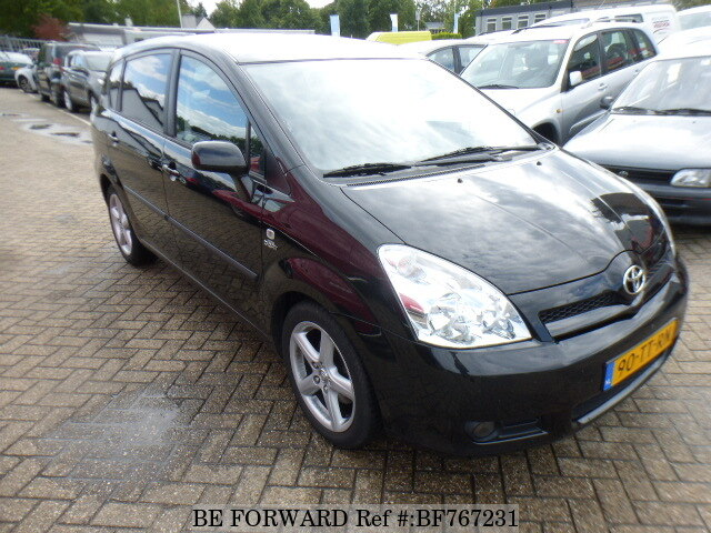 used 2007 toyota corolla verso for sale bf767231 be forward. Black Bedroom Furniture Sets. Home Design Ideas