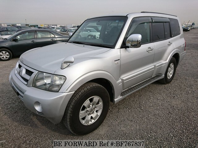 Used 2003 MITSUBISHI PAJERO BF767837 For Sale