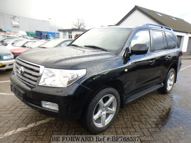 Used 2009 TOYOTA LAND CRUISER BF768537 For Sale